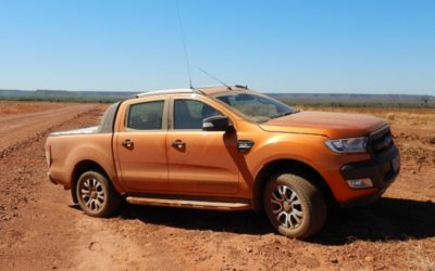 Avert Assure at the Ford Ranger Raptor Drive Experience in Northern Territory